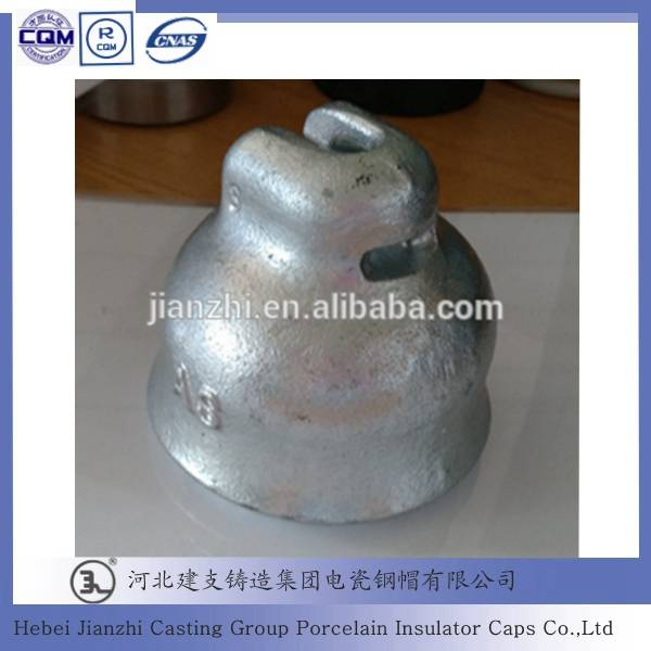 Porcelain (Ceramic) Suspension Disc Insulator Fitting of Socket Cap