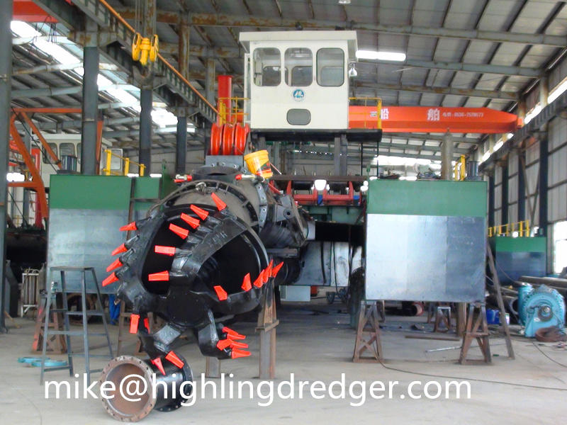 8 inch river sand cutter suction dredger