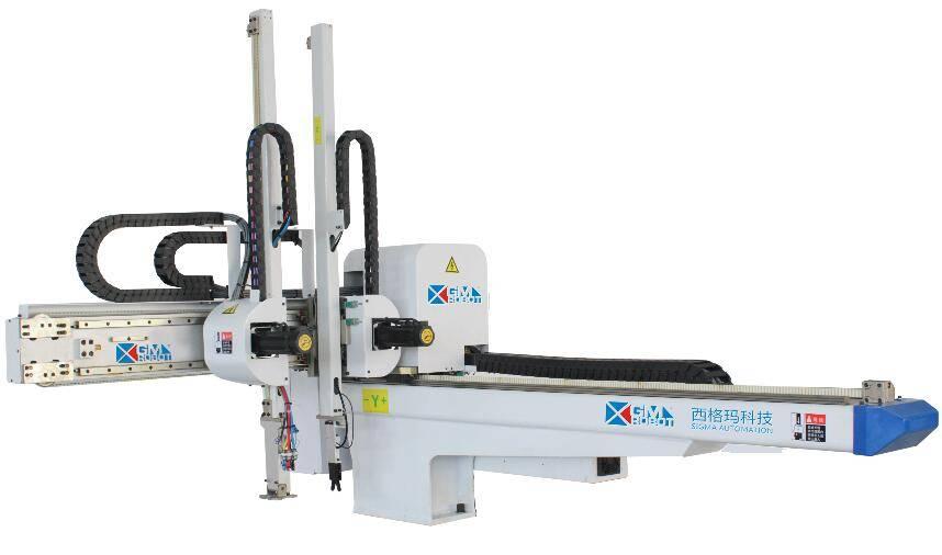 Five axis servo driven beam robots