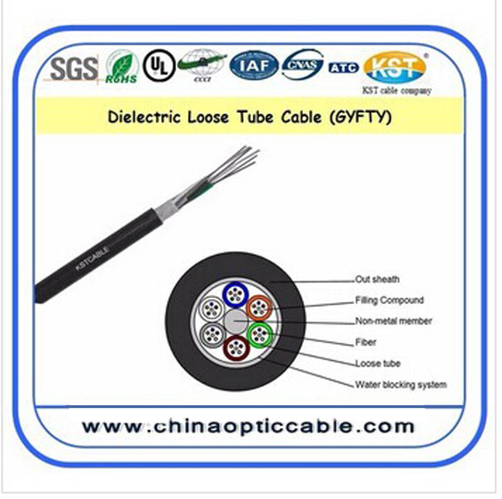Dielectric Loose Tube Cable(GYFTY)