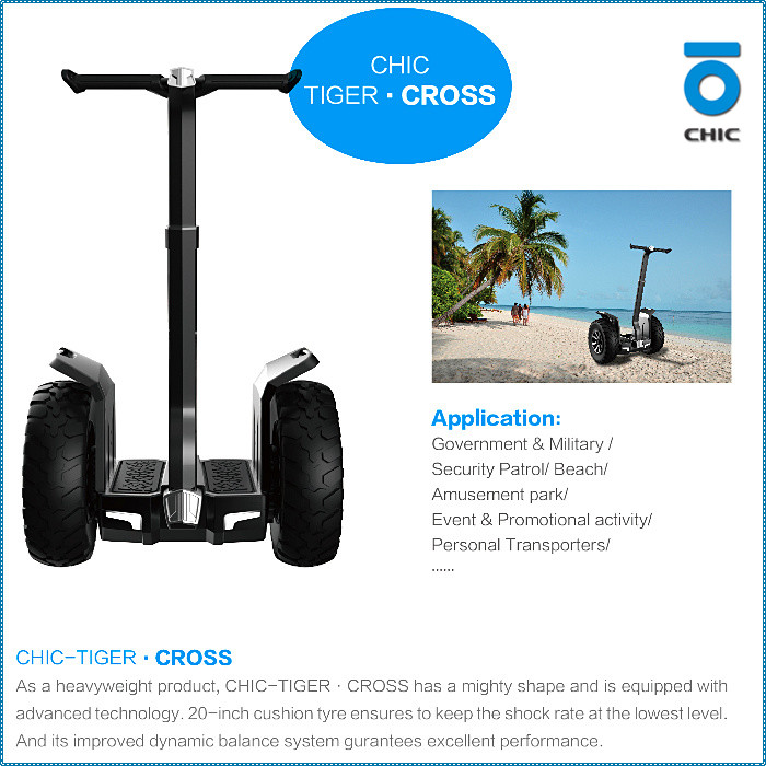 Chic electric Scooter Q6 top quality factory price safe delivery self balance scooter