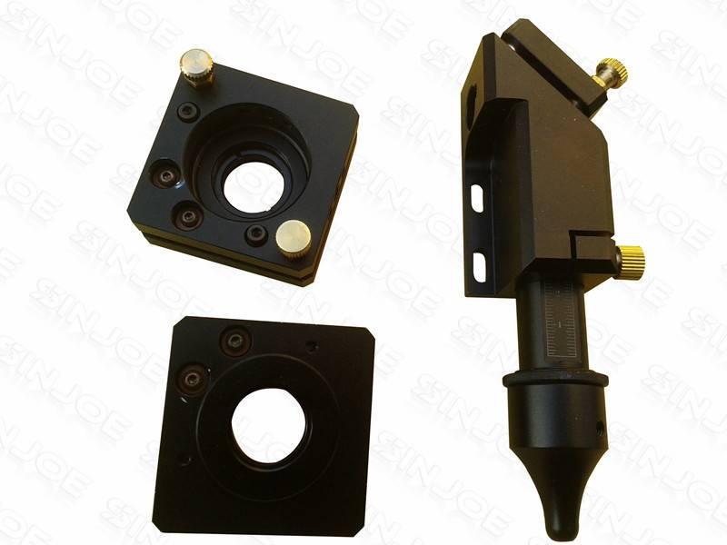 Co2 Laser Head High Precision 1 Pcs+ Adjustable Reflection Mirror Mounts 2 Pcs