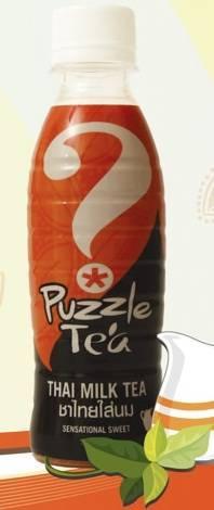 Puzzle Tea (Thai Milk Tea)