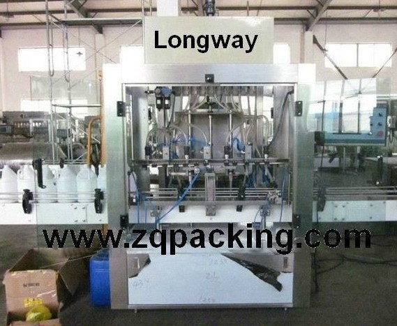 Automatic Bleach Filler ,Clorox Bottler filler capper machine