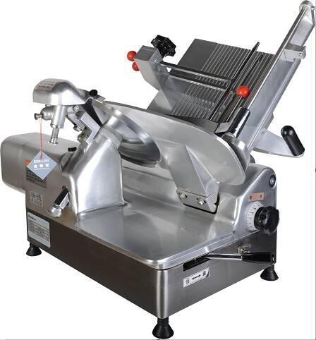 300mm blade automatic frozen meat slicer with full Aluminum-magnesium alloy body