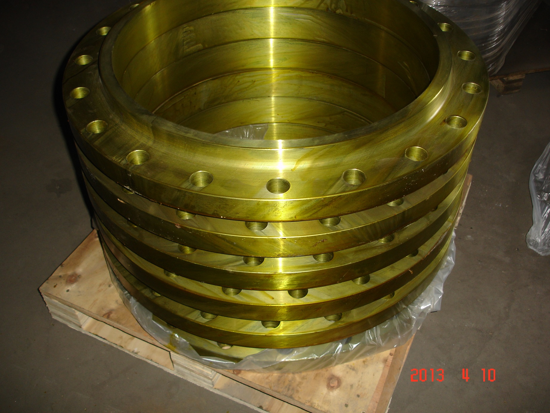 ANSI B16.5 Forged A182 Slip On Flange-SO Flange