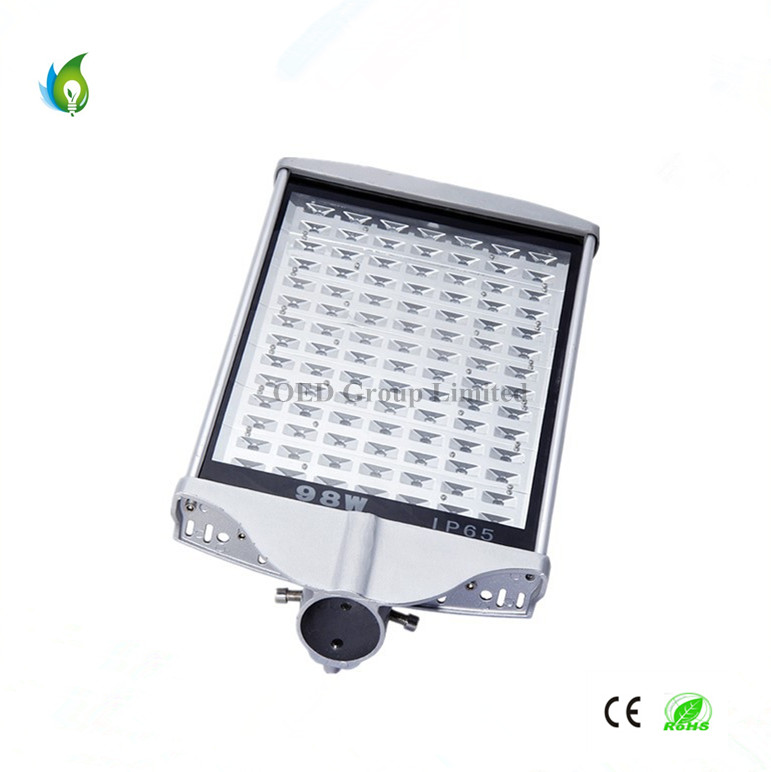 Die-Casting Aluminum 70W Flat LED Solar Street Lamps with High Bright LED