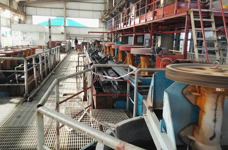 Lead-zinc beneficiation plant
