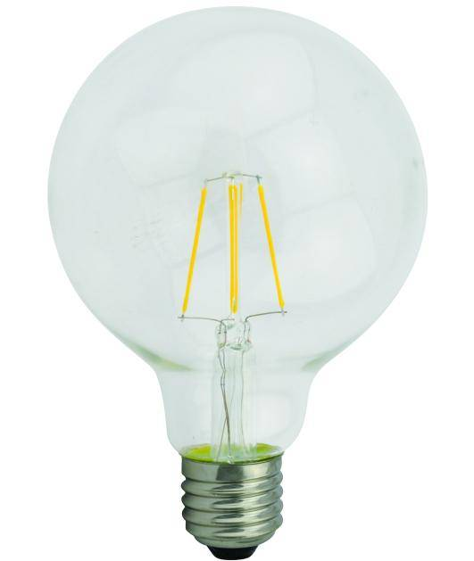 G125 2W/4W/6W/8W Dimmable Cob Led Filament Bulb Light with CE Rohs