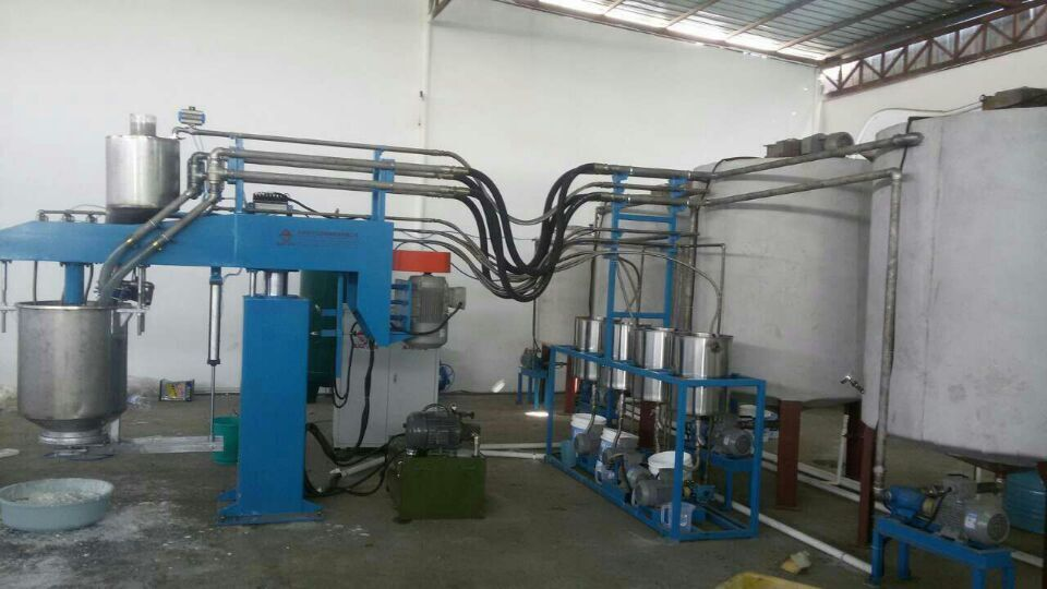 ECMT-131A automatic batch foam machine