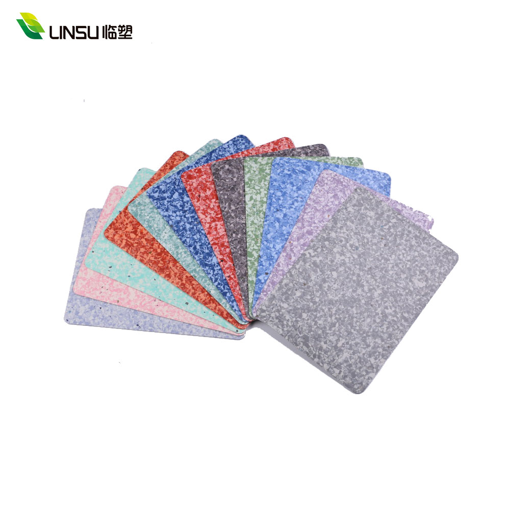 Antibacteria Waterproof Homogeneous PVC Vinyl Flooring for Hospital