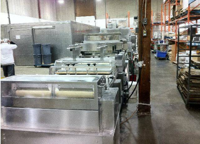Rheon Dough Forming Line