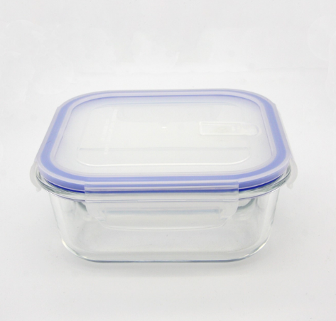 airtight storage glass lunch container