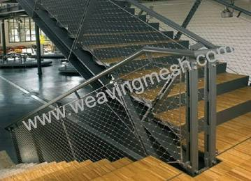 Flexible Stainless steel cable mesh, rope mesh, zoo mesh