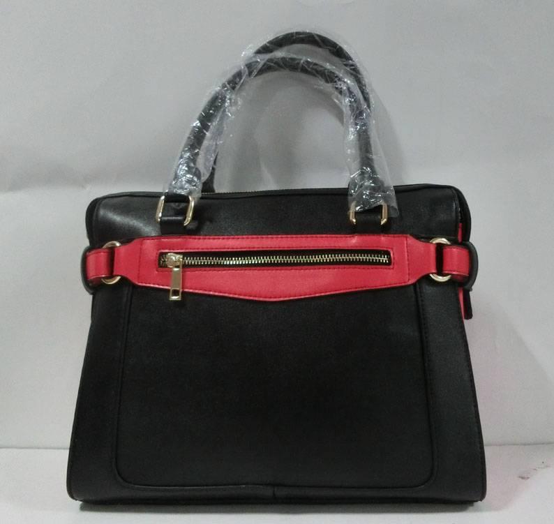 Fashion lady PU handbag smile bag
