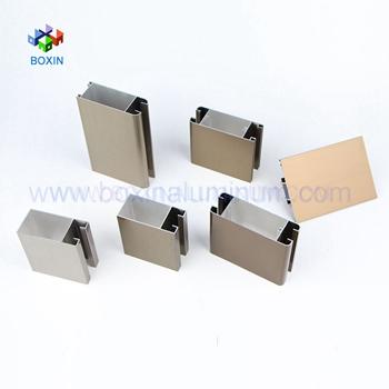 Customized 6063 T5 China Top Extrusion Aluminium Profile Manufacturers