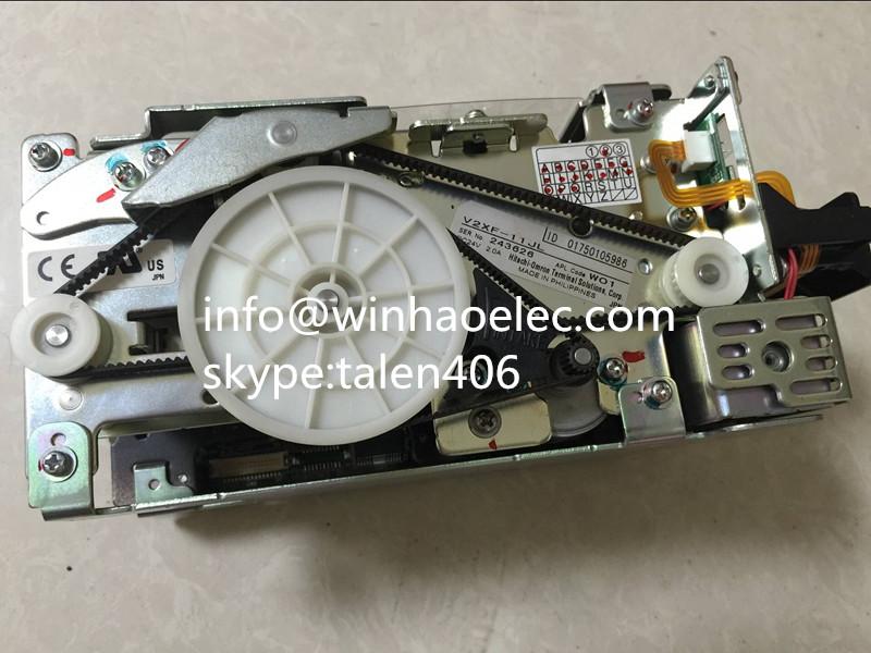 wincor atm parts 01750105986 / 1750105986 V2XF V2XF-11JL Card Reader 01750049626 1750049626