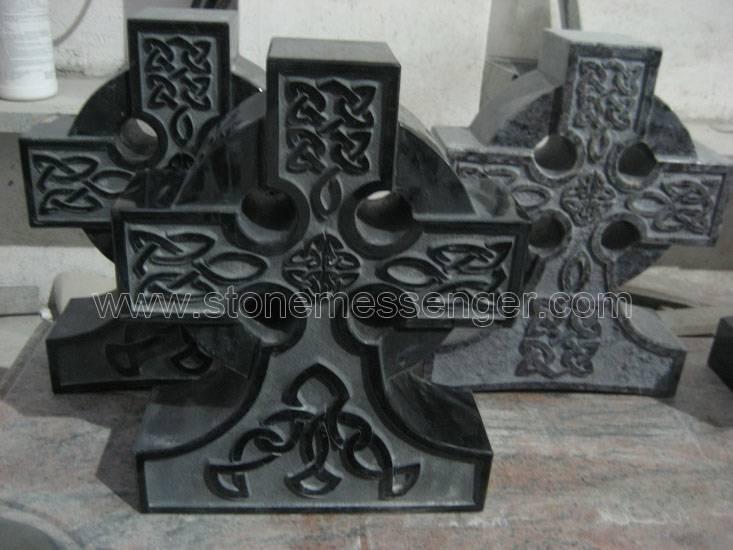 Celtic Cross Memorial Headstone