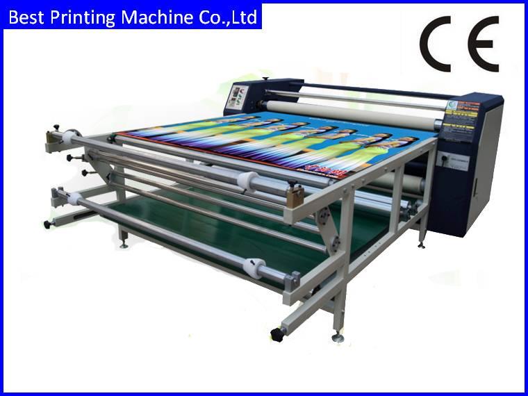 roller heat transfer printing machine