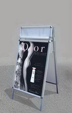 60*85CM Double Sides Eyebow Frame Poster Stand