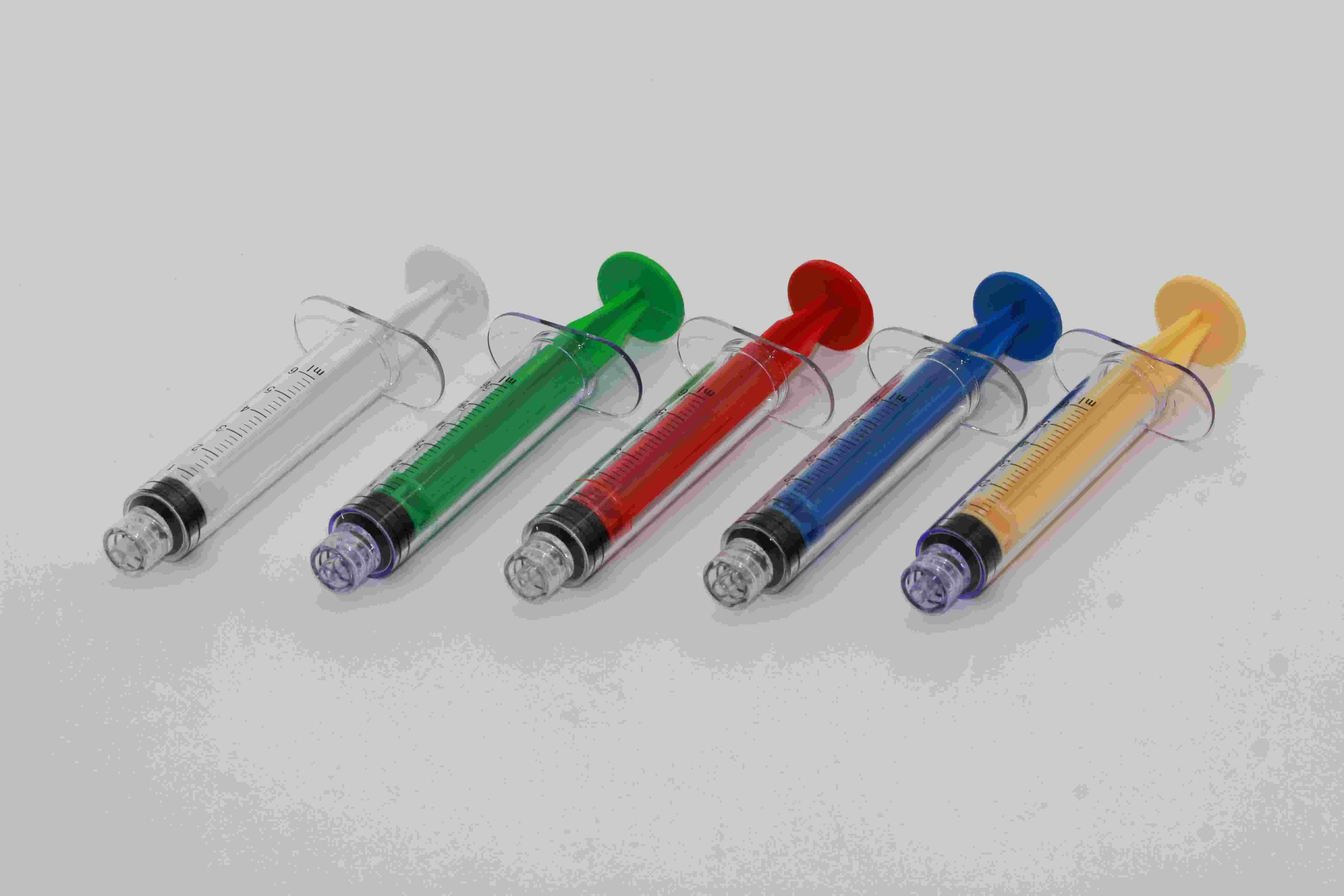 Colored Piston Specialty Syringes
