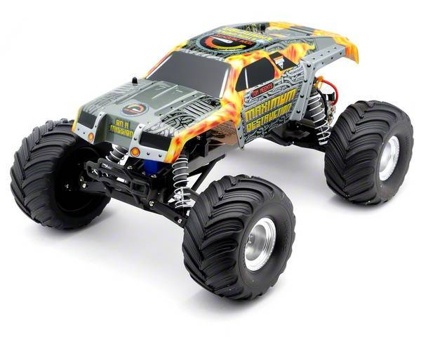 "Traxxas ""Maximum Destruction"" Monster Jam 1/10 Scale 2WD Monster Truck"