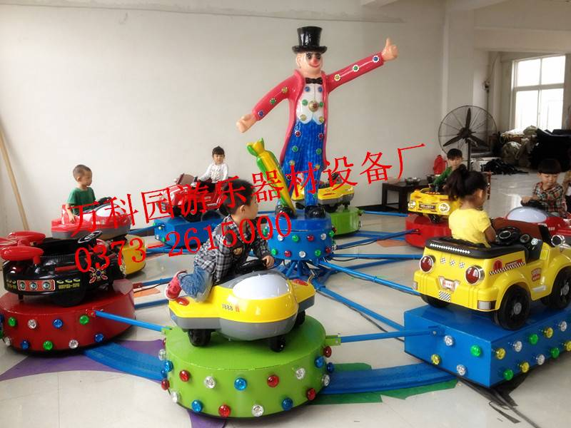 Children  Rides Whirlwind Car Electric Track Car Slide Rides