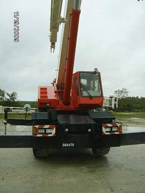 Used Tadano TG-350E Truck Crane