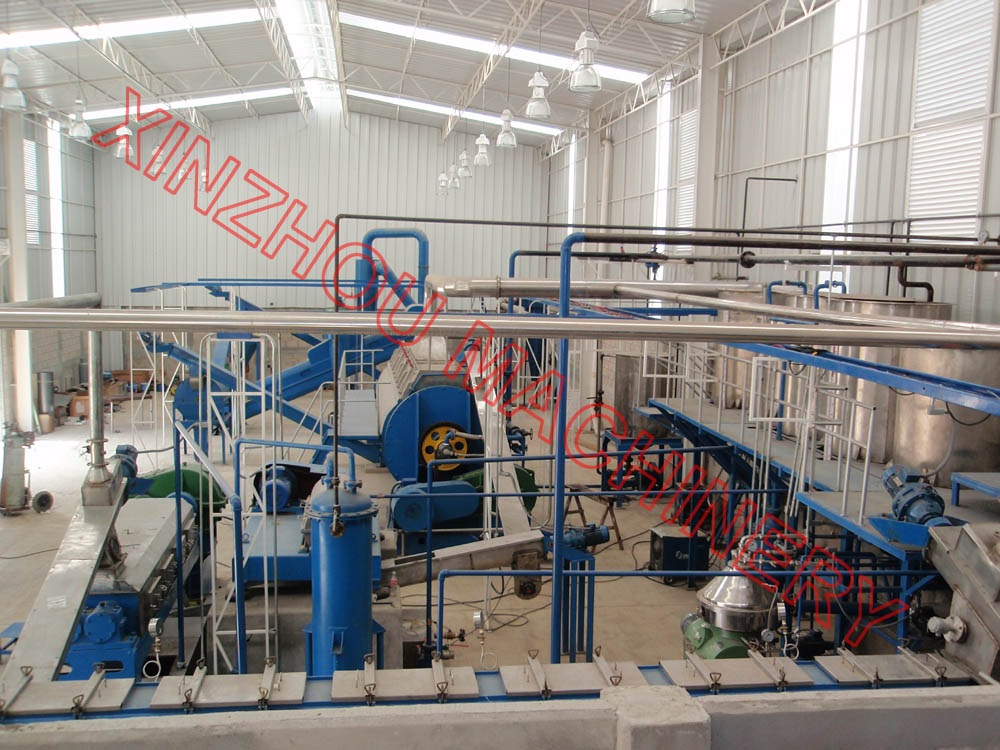 Fishmeal processing machinery