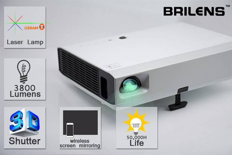 Android 4.1 Wifi Osram Lamp 3D dlp projector,4000lumens Full HD dlp smart projector,Android smart dl