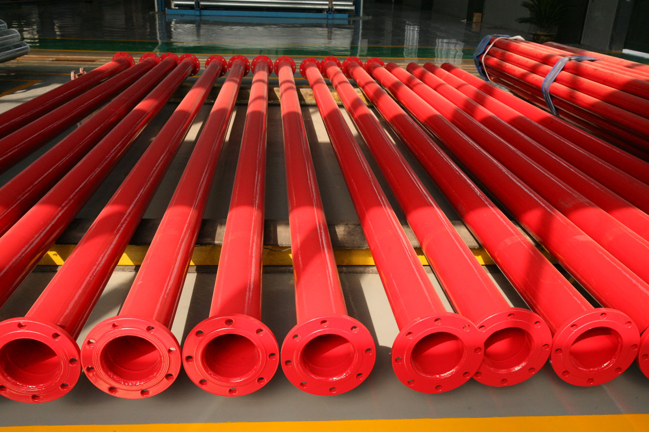 Fire-resistant coated Steel Pipe