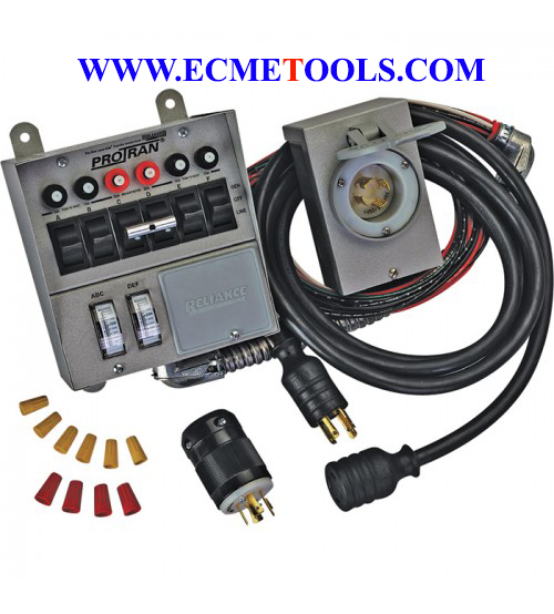 Reliance Transfer Switch Kit_6 Circuit_Type 31406CRK