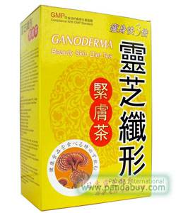 Ganoderma Beauty Skin Diet weight losing Tea