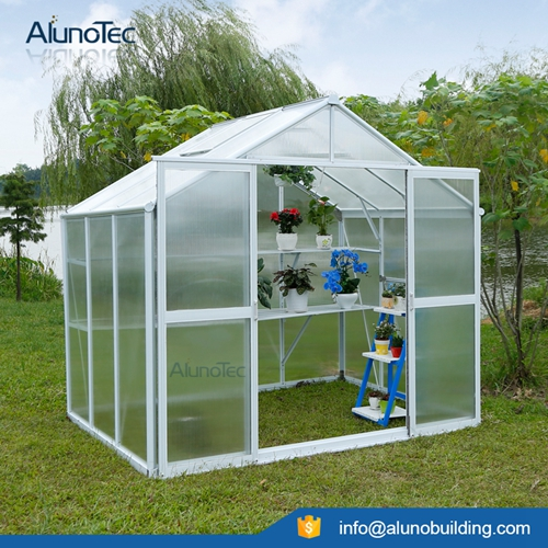 Aluminum Stylish Garden Greenhouse
