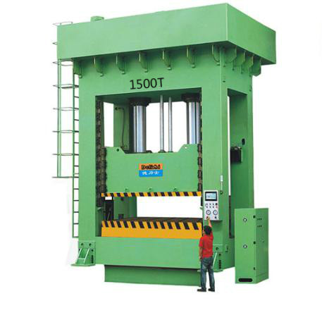 1500T Frame Precision Hydraulic Molding Machine for Water Canal