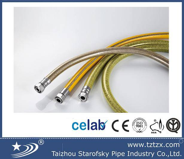 EN14800 cooker gas and lpg natural gas hose 750mm