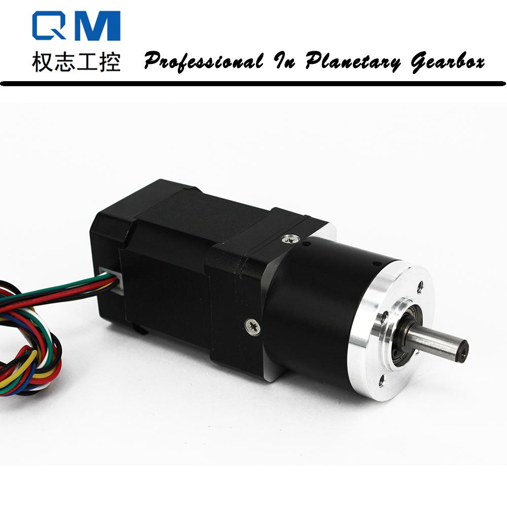 Planetary Gearbox Nema 17 60W 24V Brushless DC Motor Gear Motor Planetary Gearbox
