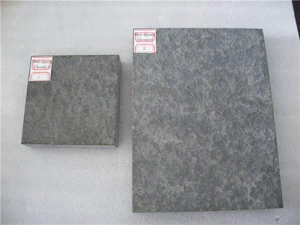 Dark grey granite tiles for paving