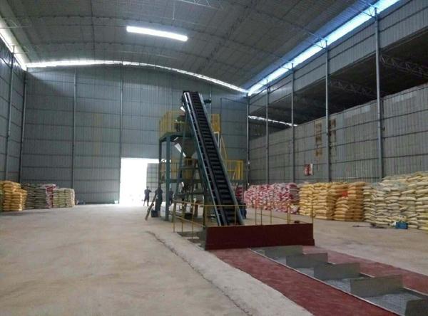 Bulk blending fertilizer processing complete set equipment