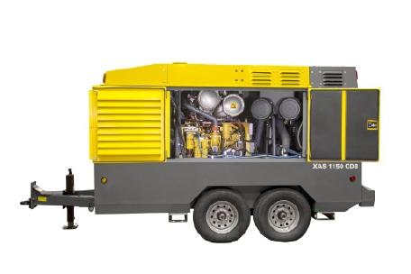 Atlas Copco Portable Air Compressor model XRVS976Cd XRHS1096Cd