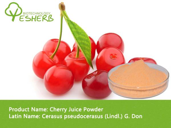 freeze dried organic cherry juice powder