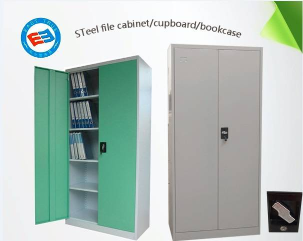 Steel knock down swing door filing cabinet office furniture bookcase garage cabinet