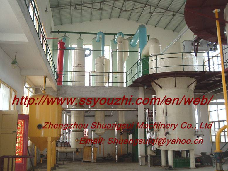 Soybean Oil Solvent Extraction Line
