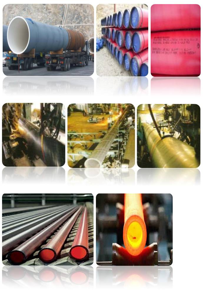 SPIRAL SUBMERGED ARC WELDED PIPE (SSAW)