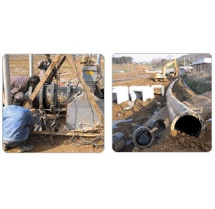 Characteristic of PE water pipe