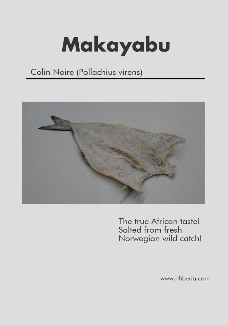 Makayabu Dry Salted Saithe