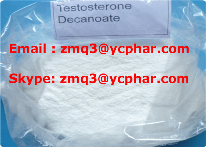 Testosterone Decanoate CAS 5721-91-5 Anabolic Steroid Chemical Powder