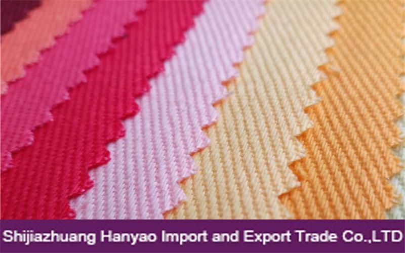 Yarn Card Dyed Drill Woven Fabric 100% Cotton 16x12 108x56 for Workwear Uniform