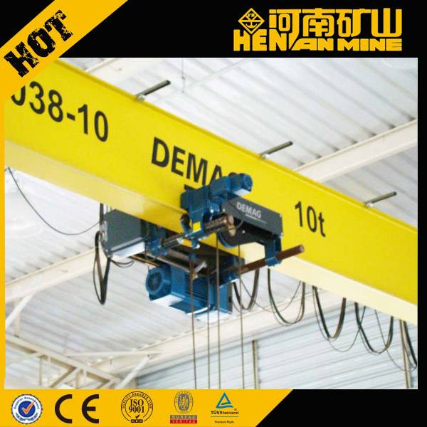 LDA Model european single girder EOT crane