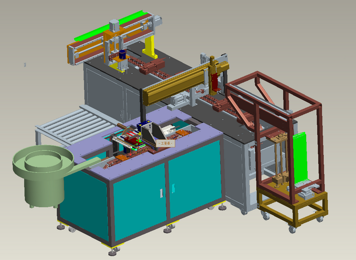 Disposable knife assembly automation equipment